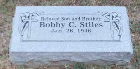 STILES, BOBBY C - Franklin County, Arkansas | BOBBY C STILES - Arkansas Gravestone Photos