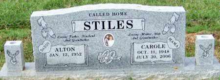 STILES, CAROLE - Franklin County, Arkansas | CAROLE STILES - Arkansas Gravestone Photos