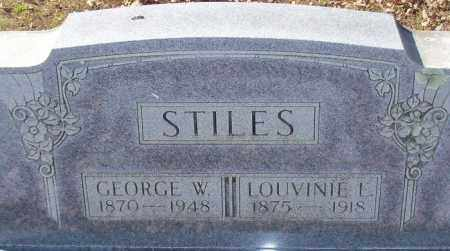 STILES, GEORGE WILEY - Franklin County, Arkansas | GEORGE WILEY STILES - Arkansas Gravestone Photos