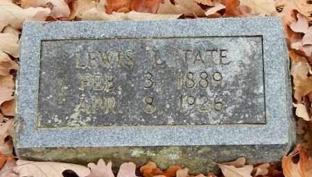 TATE, LEWIS LAFETTE - Franklin County, Arkansas | LEWIS LAFETTE TATE - Arkansas Gravestone Photos