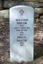 TAYLOR, MILLA - Franklin County, Arkansas | MILLA TAYLOR - Arkansas Gravestone Photos