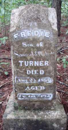 TURNER, FREDIE - Franklin County, Arkansas | FREDIE TURNER - Arkansas Gravestone Photos