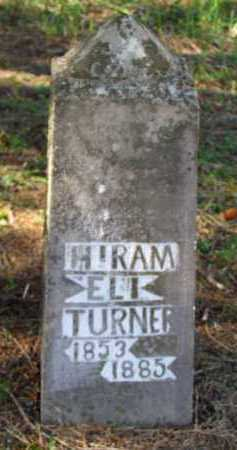 TURNER, HIRAM ELI - Franklin County, Arkansas   HIRAM ELI TURNER - Arkansas Gravestone Photos
