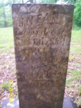 WELLS, INFANT DAUGHTER - Franklin County, Arkansas | INFANT DAUGHTER WELLS - Arkansas Gravestone Photos