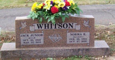 WHITSON, NORMA RUTH - Franklin County, Arkansas | NORMA RUTH WHITSON - Arkansas Gravestone Photos