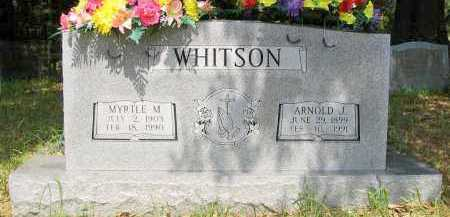 "WHITSON, ARNOLD JACKSON ""PENNY"" - Franklin County, Arkansas 