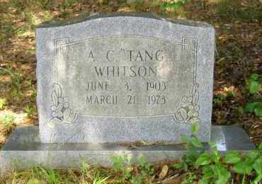 "WHITSON, ANGUS COY ""TANG"" - Franklin County, Arkansas 