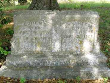 WHITSON, SEREPTA LORENA - Franklin County, Arkansas | SEREPTA LORENA WHITSON - Arkansas Gravestone Photos