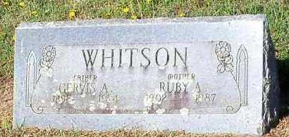 WHITSON, RUBY A - Franklin County, Arkansas | RUBY A WHITSON - Arkansas Gravestone Photos
