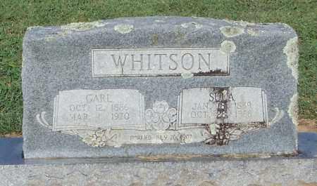 WHITSON, SULA - Franklin County, Arkansas | SULA WHITSON - Arkansas Gravestone Photos
