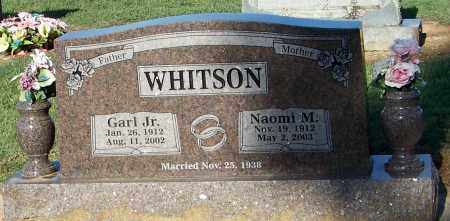 WHITSON, NAOMI M - Franklin County, Arkansas | NAOMI M WHITSON - Arkansas Gravestone Photos
