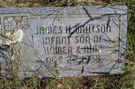 WHITSON, JAMES H. - Franklin County, Arkansas   JAMES H. WHITSON - Arkansas Gravestone Photos