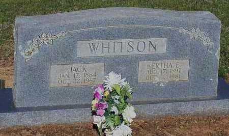 WHITSON, BERTHA MODINE - Franklin County, Arkansas | BERTHA MODINE WHITSON - Arkansas Gravestone Photos