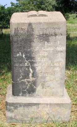 TWEEDY WHITSON, MARY ELIZABETH - Franklin County, Arkansas | MARY ELIZABETH TWEEDY WHITSON - Arkansas Gravestone Photos