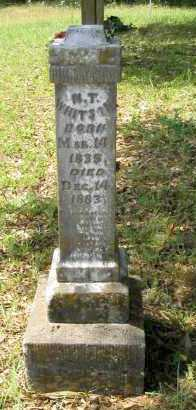 WHITSON, NATHANIEL TAYLOR - Franklin County, Arkansas | NATHANIEL TAYLOR WHITSON - Arkansas Gravestone Photos
