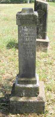 WHITSON, SENER - Franklin County, Arkansas | SENER WHITSON - Arkansas Gravestone Photos