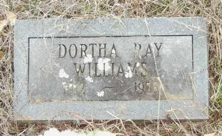 WILLIAMS, DOROTHY RAY - Franklin County, Arkansas | DOROTHY RAY WILLIAMS - Arkansas Gravestone Photos