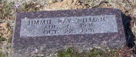 WILLIAMS, JIMMIE RAY - Franklin County, Arkansas   JIMMIE RAY WILLIAMS - Arkansas Gravestone Photos
