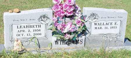 WILLIAMS, LEAHBETH - Franklin County, Arkansas | LEAHBETH WILLIAMS - Arkansas Gravestone Photos