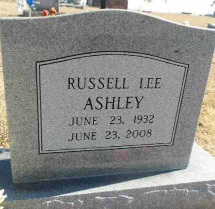 ASHLEY, RUSSELL LEE - Fulton County, Arkansas | RUSSELL LEE ASHLEY - Arkansas Gravestone Photos