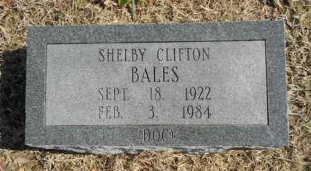 "BALES, SHELBY CLIFTON ""DOC"" - Fulton County, Arkansas 
