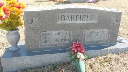 BARKSDALE BARFIELD, MARY ELLA - Fulton County, Arkansas | MARY ELLA BARKSDALE BARFIELD - Arkansas Gravestone Photos