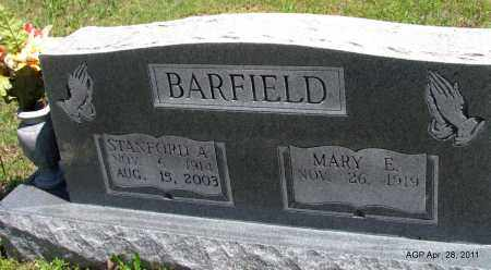 BARFIELD, STANFORD A - Fulton County, Arkansas | STANFORD A BARFIELD - Arkansas Gravestone Photos