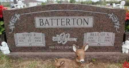 BATTERTON, BEULAH A - Fulton County, Arkansas | BEULAH A BATTERTON - Arkansas Gravestone Photos