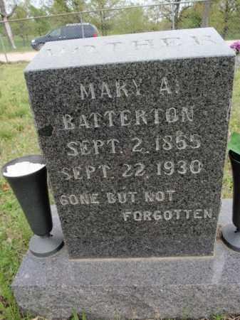 BATTERTON, MARY ANN - Fulton County, Arkansas | MARY ANN BATTERTON - Arkansas Gravestone Photos