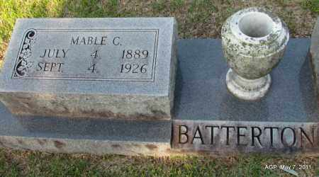 BATTERTON, MABLE C. - Fulton County, Arkansas | MABLE C. BATTERTON - Arkansas Gravestone Photos