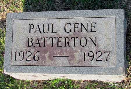 BATTERTON, PAUL GENE - Fulton County, Arkansas | PAUL GENE BATTERTON - Arkansas Gravestone Photos