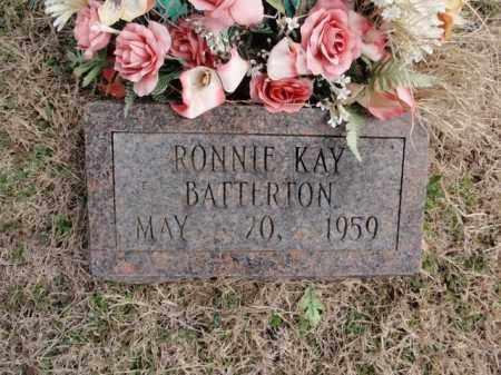 BATTERTON, RONNIE KAY - Fulton County, Arkansas | RONNIE KAY BATTERTON - Arkansas Gravestone Photos