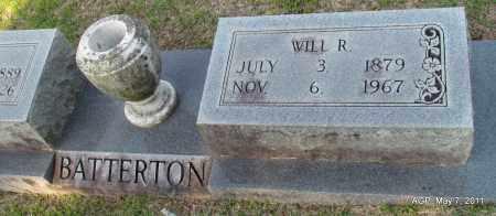 "BATTERTON, WILLIAM RILEY ""WILL"" - Fulton County, Arkansas | WILLIAM RILEY ""WILL"" BATTERTON - Arkansas Gravestone Photos"