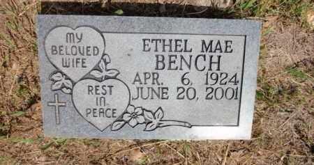 BENCH, ETHEL MAE - Fulton County, Arkansas | ETHEL MAE BENCH - Arkansas Gravestone Photos