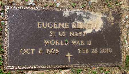 BENCH (VETERAN WWII), EUGENE - Fulton County, Arkansas   EUGENE BENCH (VETERAN WWII) - Arkansas Gravestone Photos