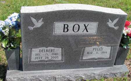 BOX, DELBERT - Fulton County, Arkansas | DELBERT BOX - Arkansas Gravestone Photos