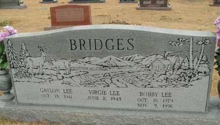 BRIDGES, BOBBY LEE - Fulton County, Arkansas | BOBBY LEE BRIDGES - Arkansas Gravestone Photos