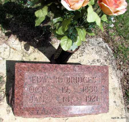 BRIDGES, EDWARD - Fulton County, Arkansas | EDWARD BRIDGES - Arkansas Gravestone Photos