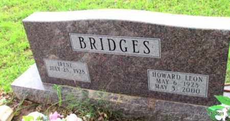 BRIDGES, HOWARD LEON - Fulton County, Arkansas | HOWARD LEON BRIDGES - Arkansas Gravestone Photos