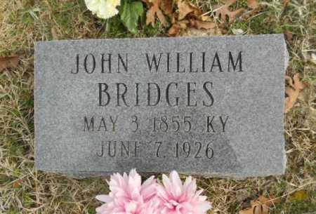 "BRIDGES, JOHN WILLIAM ""BUCK"" - Fulton County, Arkansas | JOHN WILLIAM ""BUCK"" BRIDGES - Arkansas Gravestone Photos"