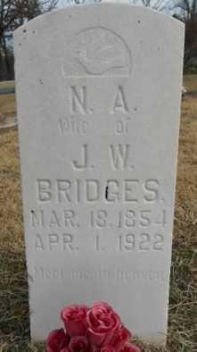 PUGH BRIDGES, NANCY ADELINE - Fulton County, Arkansas | NANCY ADELINE PUGH BRIDGES - Arkansas Gravestone Photos