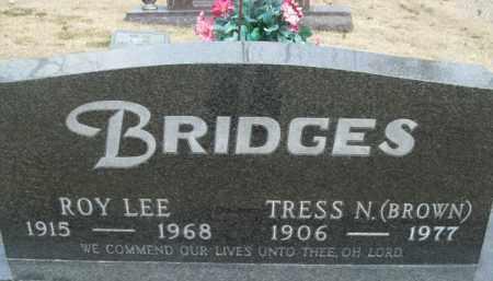 BRIDGES, ROY LEE - SECOND STONE - Fulton County, Arkansas | ROY LEE - SECOND STONE BRIDGES - Arkansas Gravestone Photos