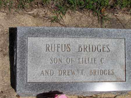 BRIDGES, RUFUS - Fulton County, Arkansas | RUFUS BRIDGES - Arkansas Gravestone Photos