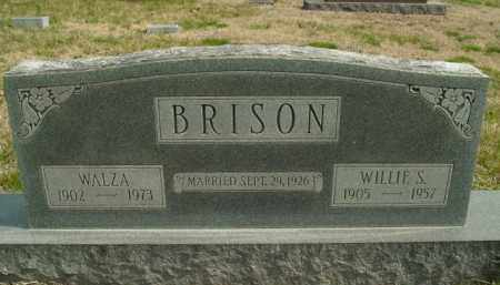 BRISON, WALZA - Fulton County, Arkansas | WALZA BRISON - Arkansas Gravestone Photos