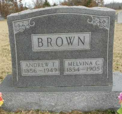 """BROWN, ANDREW THOMAS """"ANDY"""" - Fulton County, Arkansas 