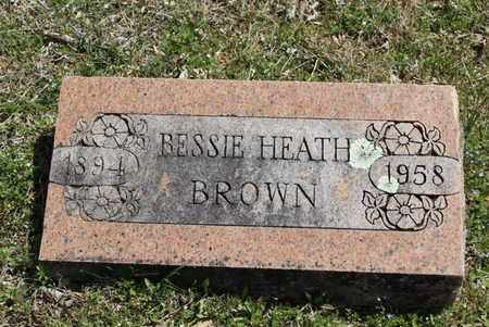 BROWN, BESSIE - Fulton County, Arkansas | BESSIE BROWN - Arkansas Gravestone Photos