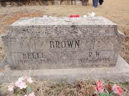 BROWN, BELLE - Fulton County, Arkansas | BELLE BROWN - Arkansas Gravestone Photos