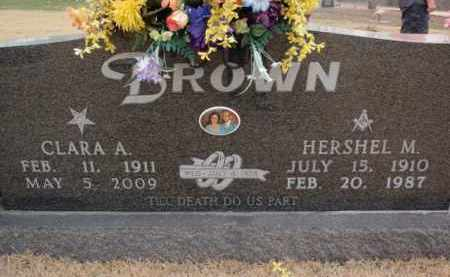 BROWN, CLARA ANN - Fulton County, Arkansas | CLARA ANN BROWN - Arkansas Gravestone Photos