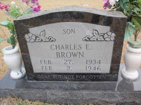 BROWN, CHARLES E. - Fulton County, Arkansas | CHARLES E. BROWN - Arkansas Gravestone Photos