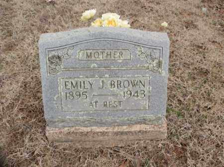 BROWN, EMILY J. - Fulton County, Arkansas | EMILY J. BROWN - Arkansas Gravestone Photos